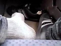 In Car Shoes and Socks 2