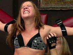 Jane gets Ticklish Elisa