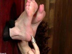 Nylon Foot Tickling - Petra