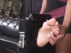 NYC Milf Racked - F/F, Her Ticklish Body Wriggles Under Tasha's Nails!