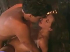 British MILF Nici Stirling gets fucked in front of a fire