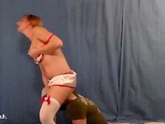 Sexy Nurse Takes Ass Worship as Payment From Deadbeat Patient