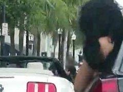 flasher sluts in the car