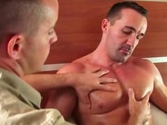 A sexy mature sport guy gets sucked by my assistant in spite of him!