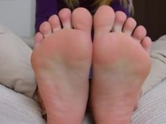Beautiful girl with pretty feet