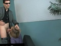 Gay clip of The adorable blondie stud is getting a individual lesson in