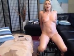 I'm posh blonde Velvet, watch me fucking with dildos, squirting and peeing!