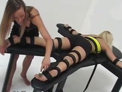 Jackie French and Marlena Graves tickling with a REVENGE