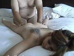 Her pussy gets eaten out and fucked
