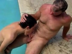 Gay video Brett Anderson is one fortunate daddy, he's met up with insane