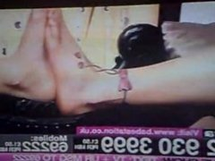 Ella Jolie Licks Foot