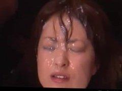 Semen Fountain Erupts On this Japanese Girl