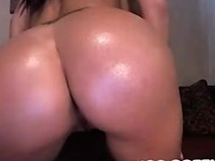Big tits and big ass babe