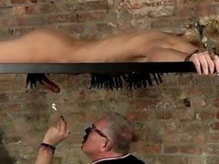 Gay jocks Blindfolded victim boy Reece has found himself tied to it, his