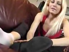 socks and feet JOI