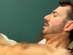 Gay twinks Bryan makes Kyler squirm as he deep throats his uncircumcised