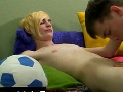 Twink video Evan Darling comes home with quite the bounty of candy, but