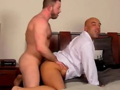 Gay cock After a day at the office, Brian is need of some daddy dick, and