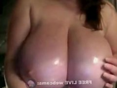 enormous breasts   Brunettes