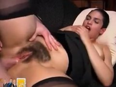 Naughty moroccan secretary with big boobs & big ass fucked hard doggystyle