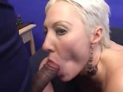 Cute Big Assed MILF gets a DP and Threesome!