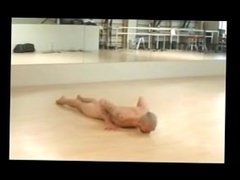 Male Nude Yoga Workout