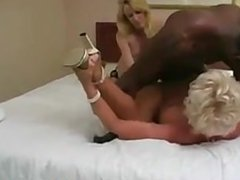 Black Guy Creaming In A Dirty Pussy