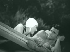 Rare clip of Olympian/Actor Buster Crabbe in swimsuit.