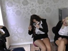 Emma Green,Emma C and Penny part 2 gagged