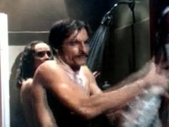 Perry King caught in the shower