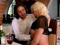 Crazy old mom hard fuck sex