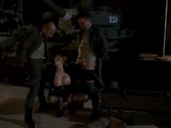 Tarra White - HARD FUCK ON THE MILITARY CAMP FOR TARRA,