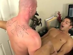 Twink video After face romping and eating his ass, Mitch porks Spencer