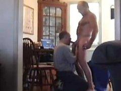 sensitive cock blow job