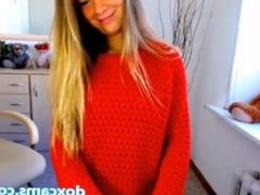 Bigtits Blonde horny on shower room live cams