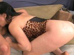 Sexy Rayveness suck a big cock