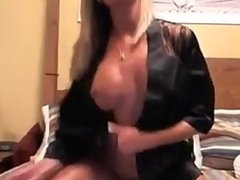 Sexy Blonde Milf Roleplay On Cam   Sex Toys