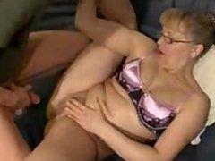 60yo Granny getting her Pussy Stuffed