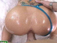 Christy Mack fucks a pink toy and gets fucked in the ass 13
