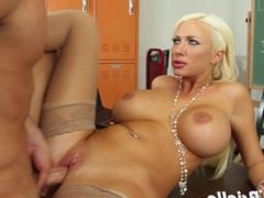 Big titted Summer Brielle riding dick