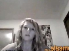 Cute Girl Shows All On Omegle