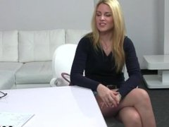 Casting Melissa Fucked at Office