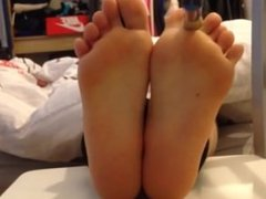 Girl Tickled and Feet oiled pt. 1