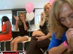 37 Strippers get blown at cfnm sex party 32