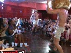 25 Slutty girls sucking cock at sex party11