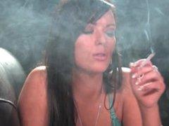 Rachel smoking 5