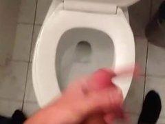 Boy Cumming In The Toilet