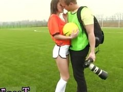 Dutch football player ravaged by photographer