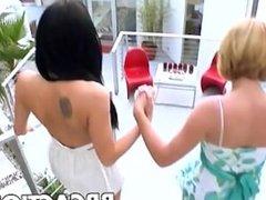 Krissy Lynn and Aliz fucked
