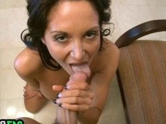 Cumming all over Ava Addams Magical Tits-4